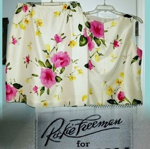 Floral Skirt Set from Neiman's